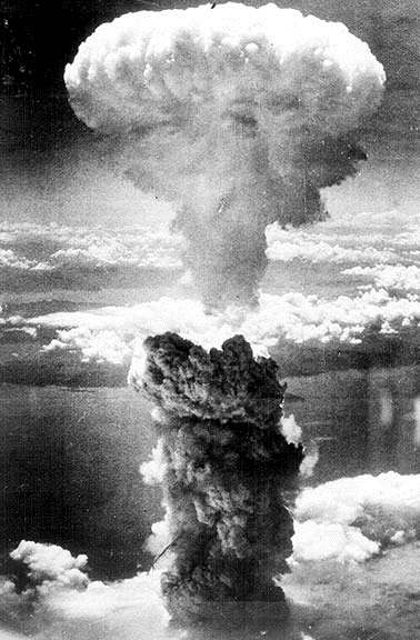 Nagasaki Destroyed By A Bomb