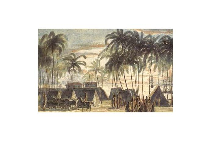 Port of Honolulu — 1816