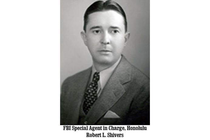 FBI Special Agent in Charge, Honolulu, Robert L. Shivers