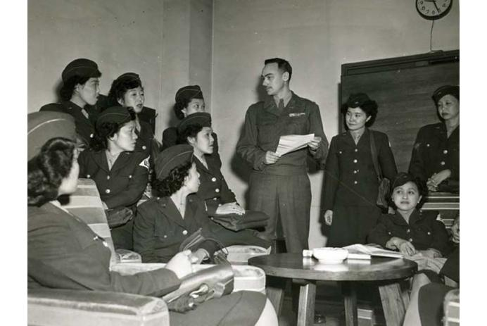 Nisei WACS serve in occupation of Japan