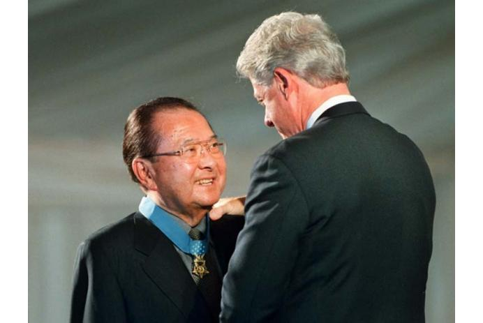 Dan Inouye awarded Congressional Medal of Honor