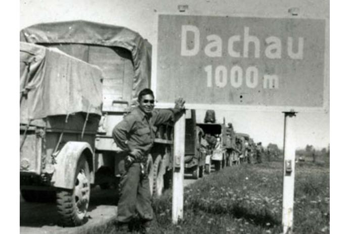 522nd approaching Dachau