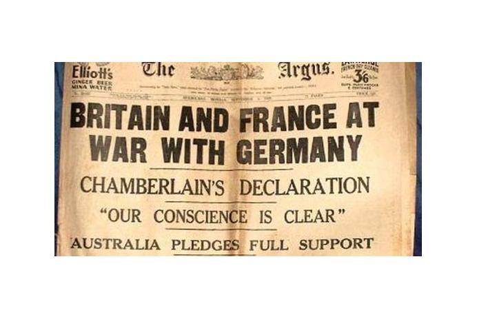 Great Britain & France declare war on Germany