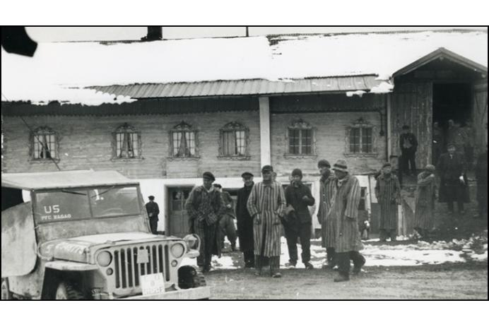 Waakirchen — liberated Death March prisoners