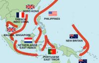 Japan attacks countries of Southeast Asia