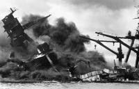 Japan attacks Pearl Harbor