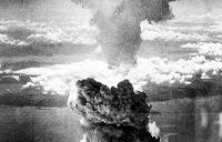 Nagasaki destroyed by A-bomb