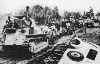 Japanese army invades Philippines