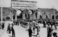U.S. Troops enter Rome