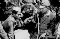 MIS discussing surrender terms with Japanese Lt. General