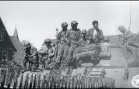 Rapidly advancing with Cavalry tanks