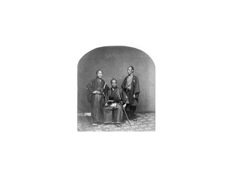 Japanese interpreters on 1860 US mission