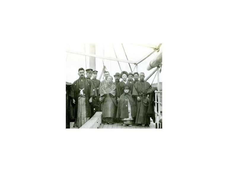 Japanese immigrants enroute to US