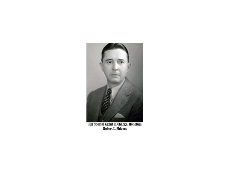FBI Special Agent in Charge, Honolulu Robert L. Shivers