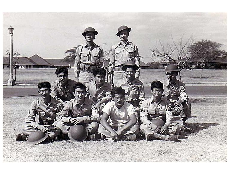 Hawaii Territorial Guard members