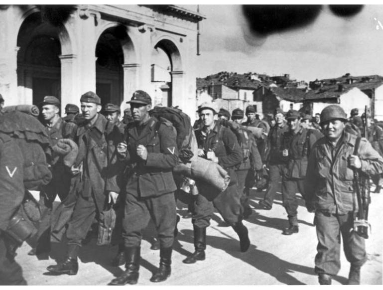 Germany soldiers surrender in droves to the 110/442nd