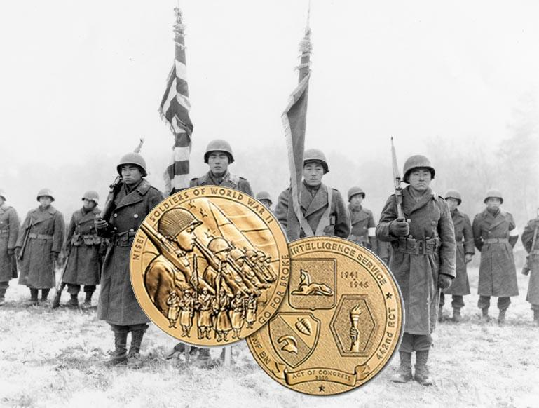 Congressional Gold Medal awarded to Nisei units