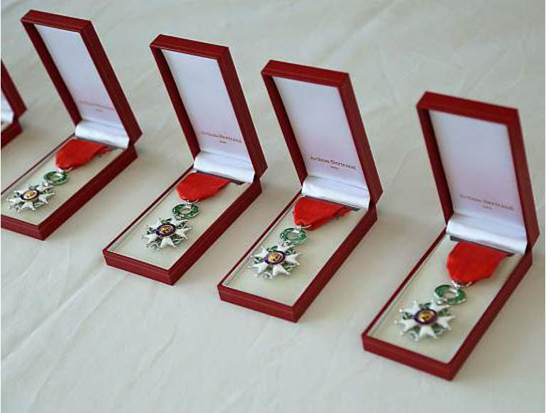 France awards Légion d'Honneur to 100/442nd veterans